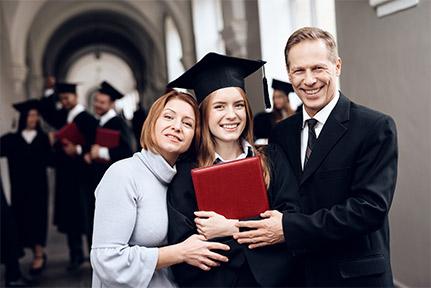 Статус официального партнера лучших учебных заведений Европы